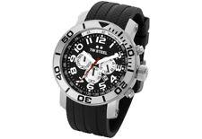 TW Steel TW72 Men's Grandeur Diver Chronogtraph 45mm Black Dial Rubber Watch