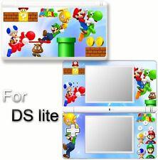 Super Mario VINYL SKIN STICKER COVER For DS LITE NDSL 5