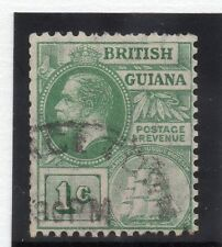British Guiana 1913-21 Early Issue Fine Used 1c.