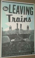 The Leaving Trains LIVE CONCERT GIG POSTER The Nymphs Mazzy Star MEGA-RARE