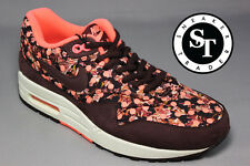 NIKE WMNS AIR MAX 1 ONE LIB QS 540855-600 LIBERTY  DEEP BURGUNDY MAGENTA SZ: 6.5