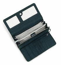 Kipling BROWNIE DAZZ TRUE BL Large Purse Wallet  Clutch Bag Purse NEW IN