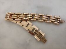 Holylandoldies-Vintage 1950's14k solid yellow gold bracelet 30.9 grams 20CM