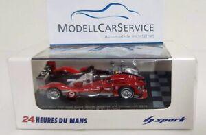 Spark 1/87 (H0): 87LM10 Audi R15 Tdi Plus No.9 - Winner le Mans 2010 T.Bernhard