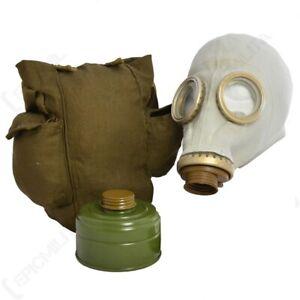 Gas Mask GP-5 Respiratory Versatile Protective Latex USSR Russian Soviet Army
