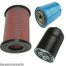 Fits NISSAN ELGRAND 3.2 TD E50 97-02 3PC OIL AIR & FUEL FILTERS SERVICE KIT