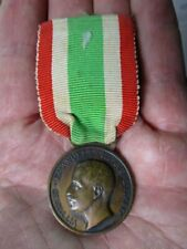 Original Wwi Italian Commemorative Medal of the Unity of Italy 1848-1922 Medal