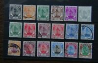 Selangor 1949 - 55 values to $5 MM or Used