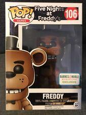 Freddy Flocked Barnes & Noble Exclusive Funko Pop #106 Five Nights at Freddy's