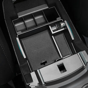Fit For Ford Explorer 2011-2016 Armrest Storage Box Pallet Center Console Tray