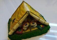 * DIDDL ~ Grosse Figurine DIDDL & DIDDLINA dans une tente ~ (excellent état)