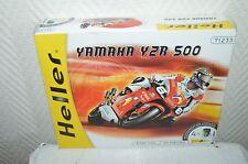 MAQUETTE MOTO YAMAHA YZR 500   MODEL KIT HELLER  NEUF MOTOR 1/24