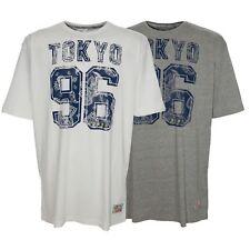 Kitaro T Shirt Herren Kurzarm Plusgröße Übergröße