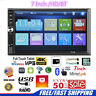 7 Inch Double 7012B 2 DIN Car FM Stereo Radio MP5 Player TouchScreen Bluetooth