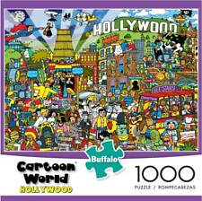 Buffalo Cartoon World 1000 Piece Jigsaw Puzzle - Hollywood