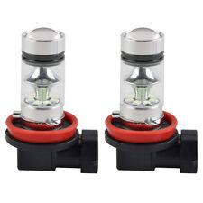 2 un. H11 H8 Coche LED Luz de Niebla Bombillas de alta potencia de 8000K Azul Hielo lámpara de conducción DRL
