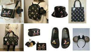 Primark Disney Monogram Mickey and Minnie Mouse Cross Shoulder Body Bag Sliders