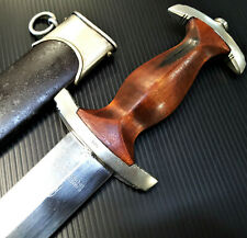VINTAGE WW2 GERMAN NSKK DAGGER & SCABBARD BY R HAASTERT & BULL SOLINGEN SWORD