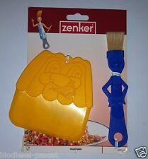 Teigschaber mit Backpinsel für Kinder von Zenker*