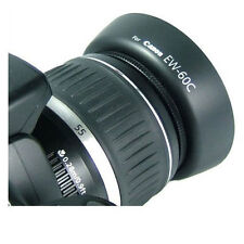 JJC LH-60C Canon EW-60C Lens Hood for CANON EF-S 18-55mm f/3.5 18-55mm 28-90mm