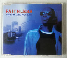 "FAITHLESS ""Take The Long Way Home"" CD 1998 1990s pop single"