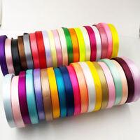 25Yards 10mm Silk Satin Ribbon Wedding decorative ribbons gift wrap DIY handmad