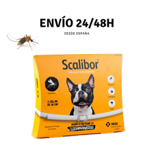 COLLAR ANTIPARASITARIO SCALIBOR 48 cm para perros - Anti Mosquitos Leishmaniosis