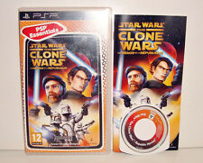 JEU SONY PSP - STAR WARS THE CLONE WARS LES HEROS DE LA REPUBLIQUE COMPLET