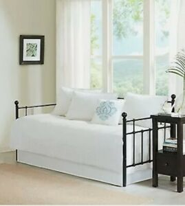 Madison Park 6 Piece Daybed Set in White Finish MP13-3980