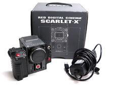 Red Scarlet-X 4K cinema camera Scarlet Mysterium X w/ SSD, EF mount, side handle