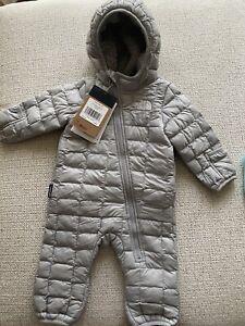 North Face Infant Snowsuit 3-6 Months