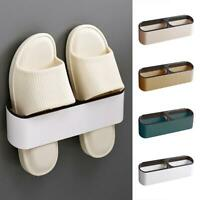 Wandmontage Schuhe Rack Slipper Regal Speicher Organisator Kunststoff Schuhe