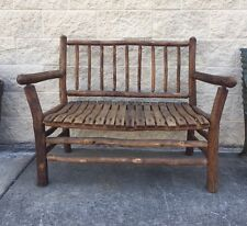 Old Hickory, Martinsville Indiana Bench/Settee