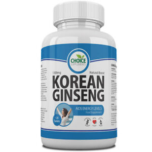 Korean Ginseng Max Strength Tablets