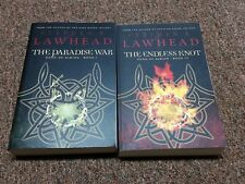 STEPHEN LAWHEAD  2 science fantasy books SERIES: SONG OF ALBION