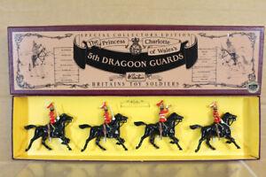 BRITAINS 8821 BRITISH PRINCESS of CHARLOTTE of WALES 5th DRAGOON GUARDS MIB nn