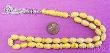 Prayer Worry Beads Komboloi Tesbih Egyptian Musk (Miskeh Masriyyeh) & Sterling