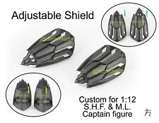 Custom Captain America Infinity wars shield 1/12 s.h.figuarts marvel legends shf