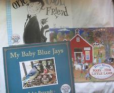 Lot of 3~Dolly Parton Imagination Library~Baby Blue Jays Lamb Friend~LBDAH