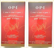 Opi 2 Btls Over & Over A-Gwen Signature Shade Gwen Stefani 2014 and Nail Polish