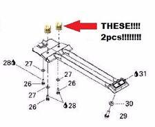Seadoo Intake Grate Mounting Insert SET 2pcs Glue Into Pump Shoe Support