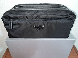 Prada Nylon Travel Pouch / Wash Bag - Brand New - 100% Authentic