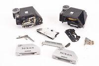 Lot of 2 Nikon F Photomic Viewfinder Meters for Parts or Repair V12