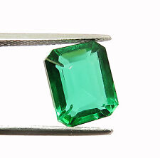7.95 Ct Good Looking Emerald Shape Brazilian Green Topaz Gemstone eBay