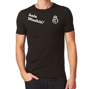 Unisex Real Madrid Hala Madrid T-shirt Custom Camiseta Soccer Futbol Spain