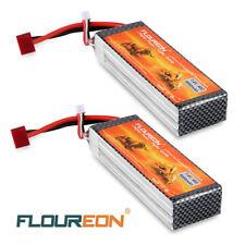 2X 8000mAh 2S2P 7.4V 40C LiPo RC Battery Deans Plug for RC Evader BX Car US