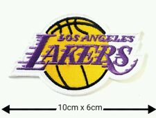 Los Angeles Lakers Basketball Patches Logo Embroidery Iron on ,Sewing on Clothes