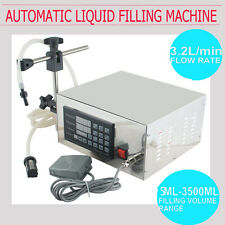 Automatic Digital Water Liquid Filling Filler Machine5~3500ml Quantitative LT130