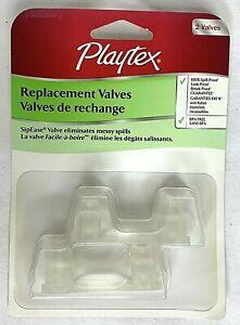 Playtex Replacement Valves SipEase Valves Eliminates Messy Spills 2 Valves NEW