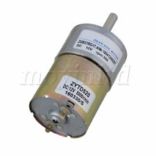 12V DC 300 RPM Gear-Box Electric Motor Silver